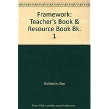 Framework: Teacher's Book & Resource Book Bk. 1