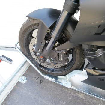 Set 2 X Motorrad Standschiene Mit Haltebügel Und Wippe Auto