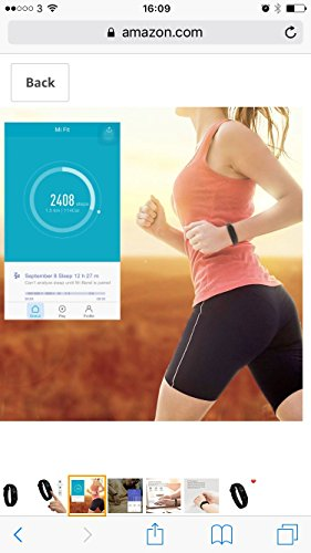 Xiaomi Mi Band 2, Bluetooth 4.0 Xiaomi Mi Band 2 Wristband Bracelet With OLED Display Water resistant Smart Heart Rate Fitness Tracker