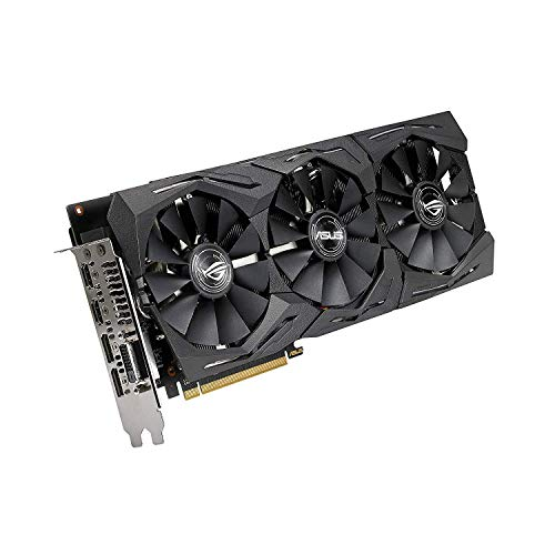 ASUS ROG Strix Radeon Rx 590 8G Gaming GDDR5 DP HDMI DVI VR Ready AMD Graphics Card Graphic Cards ROG-STRIX-RX590-8G-GAMING