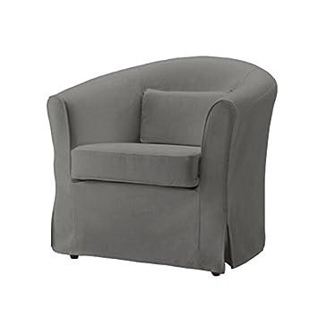 Reemplazar Funda para IKEA EKTORP Tullsta sillón, 100% algodón sofá Funda para Ektorp Tullsta sillón: Amazon.es: Hogar