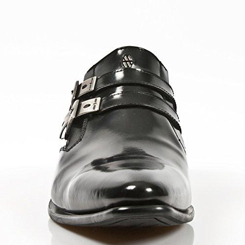 S5 Stiefel M New NR Herren Rock 2246 Schwarzes 6xwxqZfOB