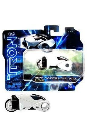 Tron Legacy Series 1 Die Cast Vehicle Kevin Flynns Light Cycle