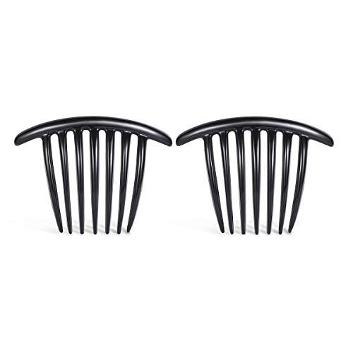(Evita Peroni Classic French Hair Comb Clip Accessories Headwear (2 pcs))