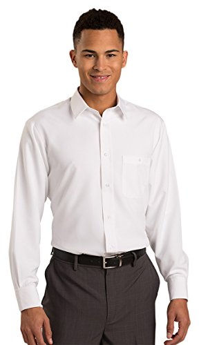Edwards Batiste Shirt, WHITE, XXXXX-Large Tall by Edwards