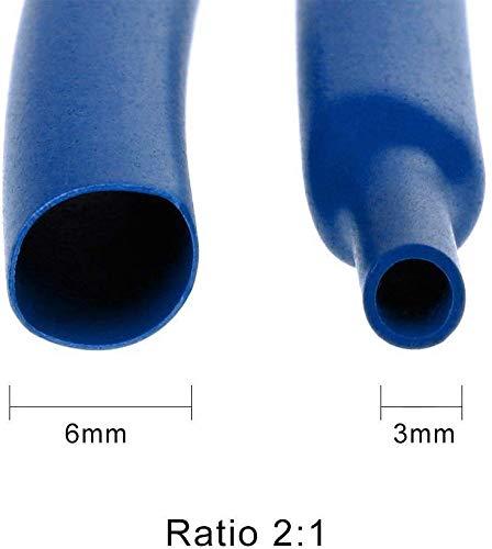 1 Poliolefina Tubo Termorretr/áctil 7 Tama/ños 2-13mm Surtido de Termorretr/áctil Envoltura de Alambre by Targarian 656 Piezas Tubo Termorretr/áctil 2