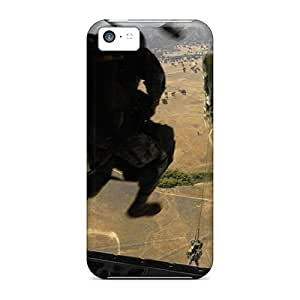 Snap-on Static Line Parachute Case Cover Skin Compatible With Iphone 5c