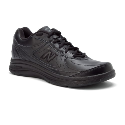 New Balance Men's MW577 Black Walking Shoe - 12 2E US