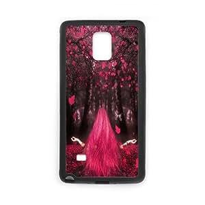 Samsung Galaxy Note 4 Case Love Magic, - [Black] Dustin
