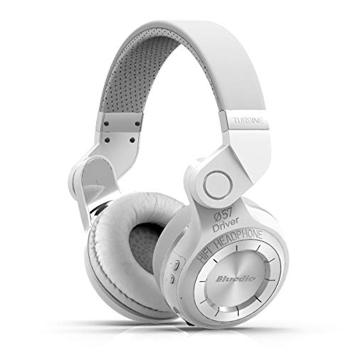 Bluedio T2s Bluetooth Headphones On Ear with Mic, 57mm Drive