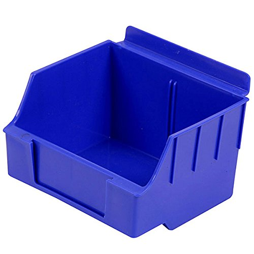 New Retail Standard Blue Storbox for Slatwall 4.65''d x 5.5''w x 3.35''h by Storbox