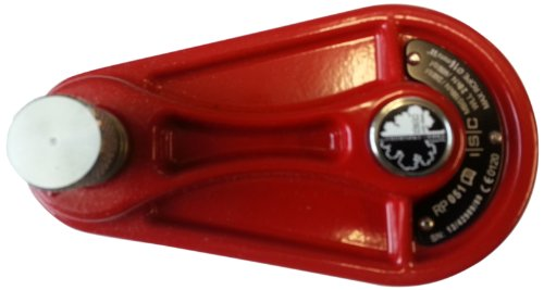 Pulley Cast (NSP RP051 Cast Aluminum Arborist Pulley, 2000 Kg Working Load Limit, 16mm Rope Diameter)
