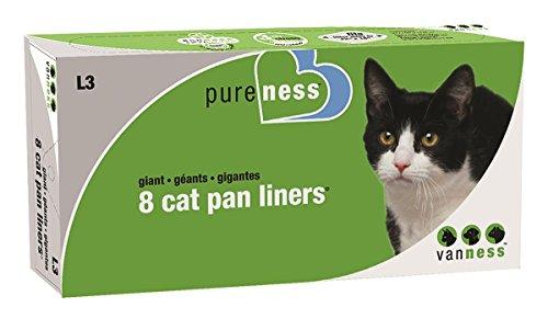 Van Ness Giant Cat Pan Liners, 8-Count