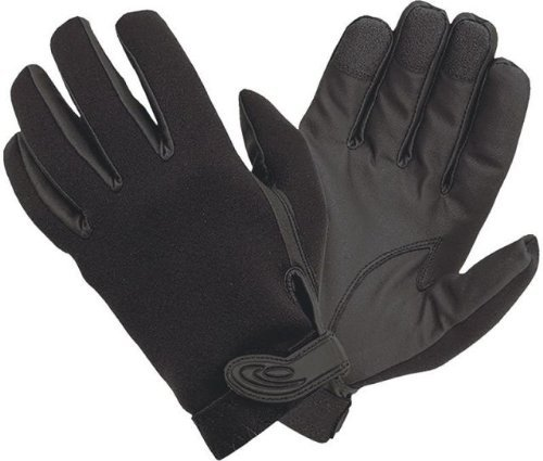 Hatch NS430 Specialist All-weather Shooting Duty Glove with Sheriff Logo, X-Small, Black