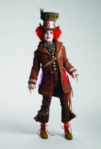 [Tonner Doll Alice in Wonderland Tarrant Mad Hatter Doll] (Amazing Alice In Wonderland Costumes)