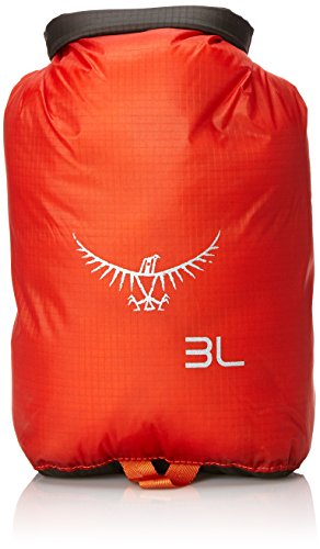 Osprey UltraLight 3 Dry Sack, Poppy Orange, One Size