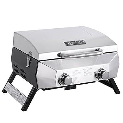 Amazon Com Nexgrill 20 000 Btu Portable Table Top Grill With 2