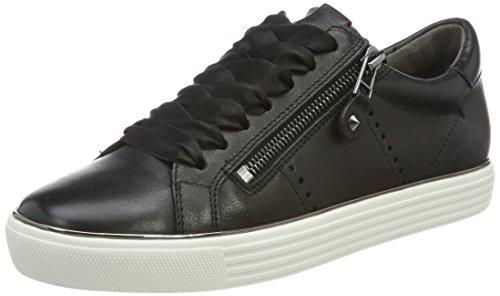 Canile E Donne Schmenger Città Sneaker Nera (black Suola Bianca-gun)