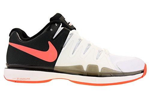 Nike Womens Zoom Vapor 9.5 Tour Tennis Shoes White/Hyper Orange/Black 631475-102 Size 7 (Womens White Tennis Shoes Nike)