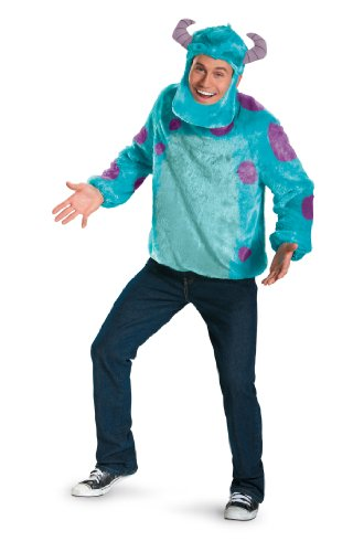 [DIS58783 (XL 42-46) Sulley Adult Costume] (Sully From Monsters Inc Costume)