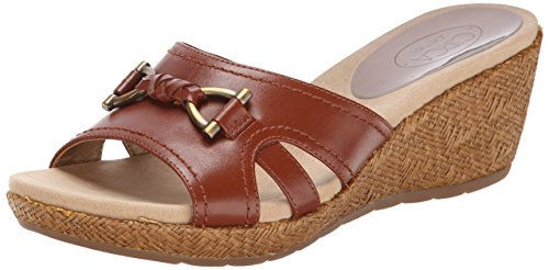 Circa Joan & David Kvinna Pence Wedge Sandal Mellanbrun