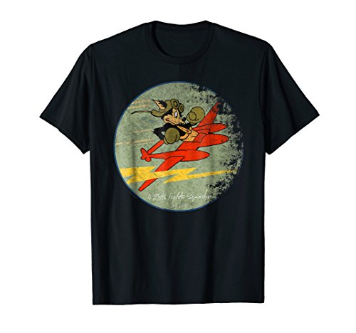 Wwii Squadron Patches - 428th Fighter Squadron WWII Vintage Patch Design T-Shirt