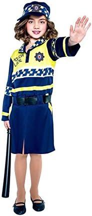 Disfraz de Policía local para niña: Amazon.es: Juguetes y juegos
