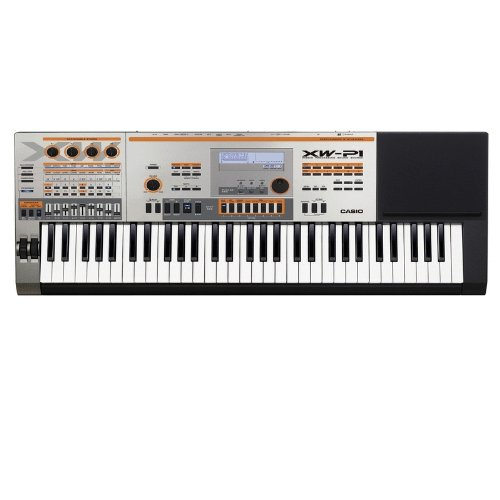 Casio XWP1 61 Key Keyboard Performance Synthesizer - (Chrome)