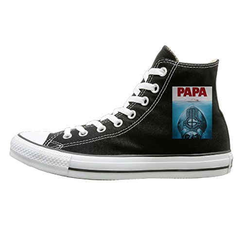 jml-unisex-classic-ghost-papa-slip-on-shoes-black-size35