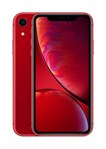 Apple iPhone XR (128GB) – (PRODUCT)RED (incluye Earpods, adaptador de corriente)