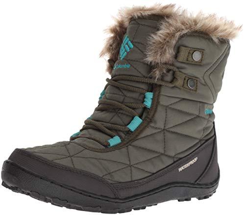 (Columbia Women's Minx Shorty III Ankle Boot nori, Pacific Rim 8 Regular US)