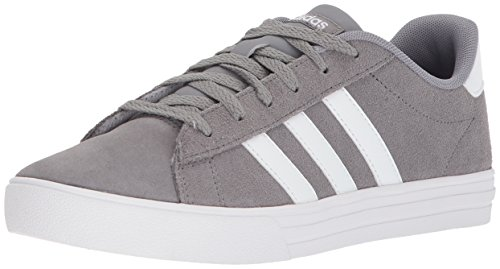 adidas Kids' Daily 2.0, Grey Three/White/White, 6.5 M US Little Kid
