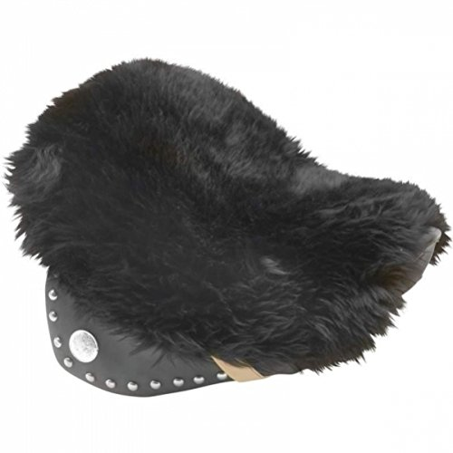 Diamond Plate Genuine Sheepskin Motorcycle Seat Cushion - Motorcycle Seat Cover