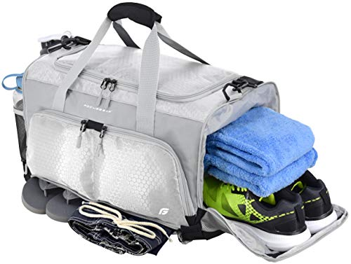 "FocusGear Ultimate Gym Bag: The Crowdsource Designed 20"" Duffel (with Improved Stitching Based on Customer Feedback)"