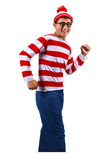 elope Where's Waldo Teen Costume (Waldo Costume Girl)