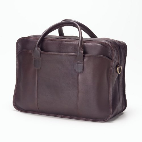 - Clava - Legal Leather Travel Briefcase - Vachetta Cafe - Vachetta Cafe