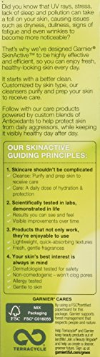 41x3Fj7Ar3L - Garnier SkinActive Clearly Brighter SPF 30 Face Moisturizer with Vitamin C, 2.5 Fl Oz (Pack of 1)