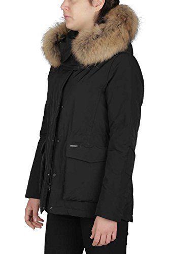 Wwcps2512 Col Piumino Parka Woolrich Military Short W's M Nero Donna Tg qw1nPqS7Y