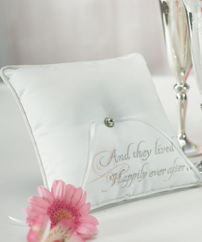 Weddingstar Fairy Tale Dreams Square Ring Pillow by Weddingstar