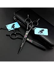 Left Hand Hair Cutting Scissors Set,Hair Dressing Shears Kit,Professional Hair Shears Set,for Men Women aldults Pet Barber