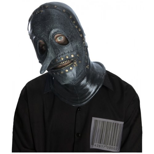 Slipknot Chris Mask, Grey/Green, One -