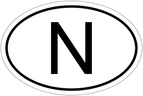 Kiwistar Norwegen N 10 X 6 6cm Autoaufkleber Sticker Aufkleber Kfz Flagge Auto