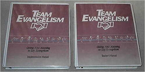 Team Evangelism: giving new meaning to lay evangelism