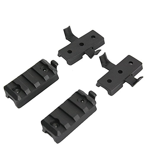 Airsoft Tactical Helmet Accessory ARC Rail Mount Kit for Scope Camera Attachment Fits ACH MICH Fast Helmet Picatinny Adapter 20mm Rail