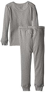 Burt's Bees Kid's Organic Henley Pajama Tee and Pant Set