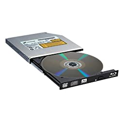 LG Storage BT30N Slim Blu-ray Drive DVDRW 6X SATA with 3D Playback and M-Disc Bare Drive without Software
