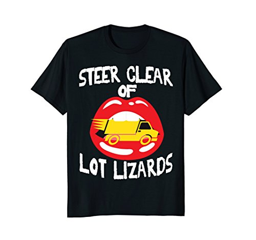 Funny Lot Lizard Semi Truck Driver T-shirt Trucker Stop Gift (Best Truck Stops For Lot Lizards)