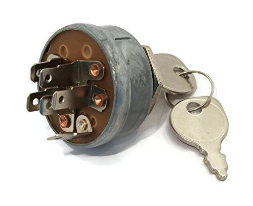 IGNITION SWITCH & KEYS for Toro 27-2360 131095 Groundsmaster Riding Lawn Mowers by The ROP Shop