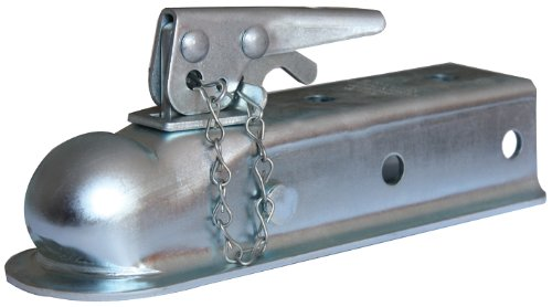 Husky 87073 2'' Ball 2'' Width Straight Coupler with Chain by Husky