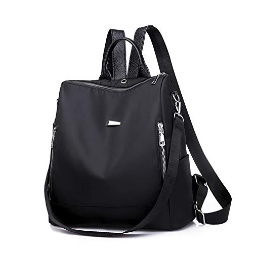 Women Backpack PU Leather for Teenage Girls Casual Large Capacity Shoulder Bags Bookbags Nylon,Style A Nylon